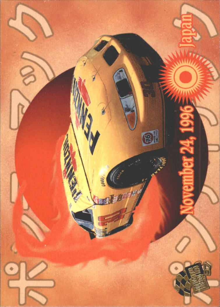 1997 Press Pass #55 Johnny Benson's Car