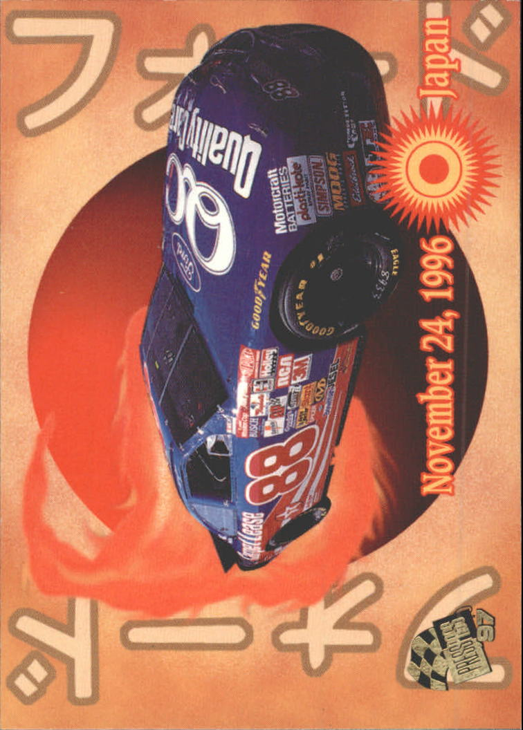 1997 Press Pass #59 Dale Jarrett's Car