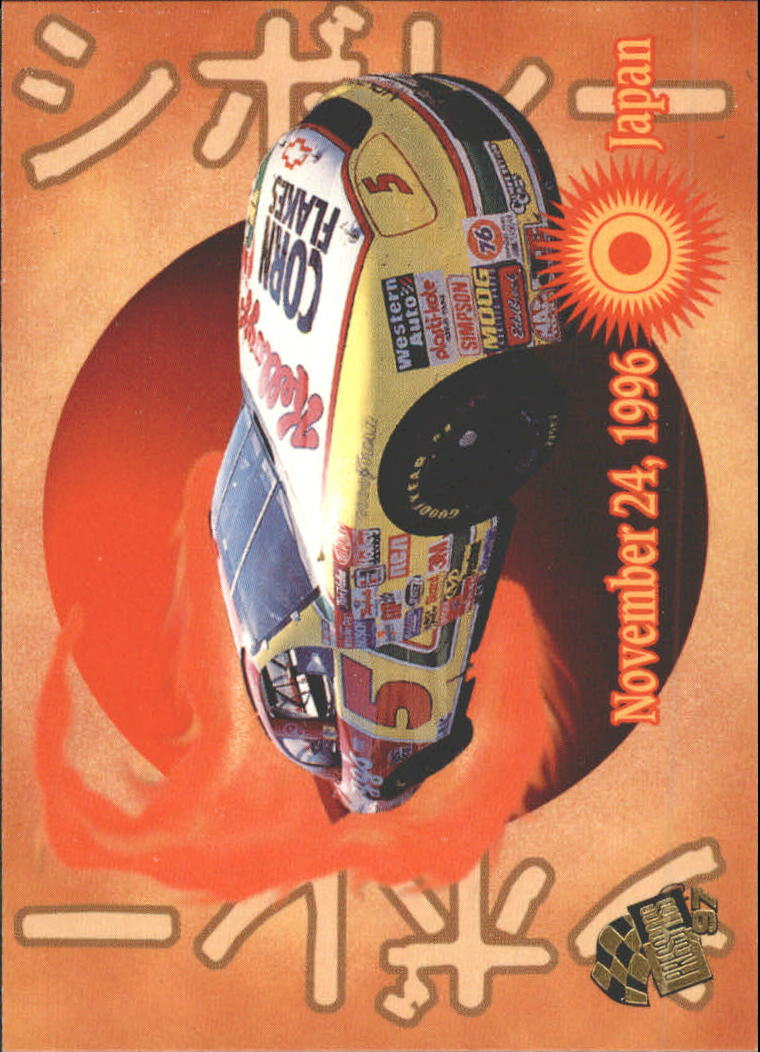 1997 Press Pass #60 Terry Labonte's Car