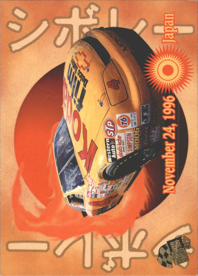 1997 Press Pass #61 Sterling Marlin's Car
