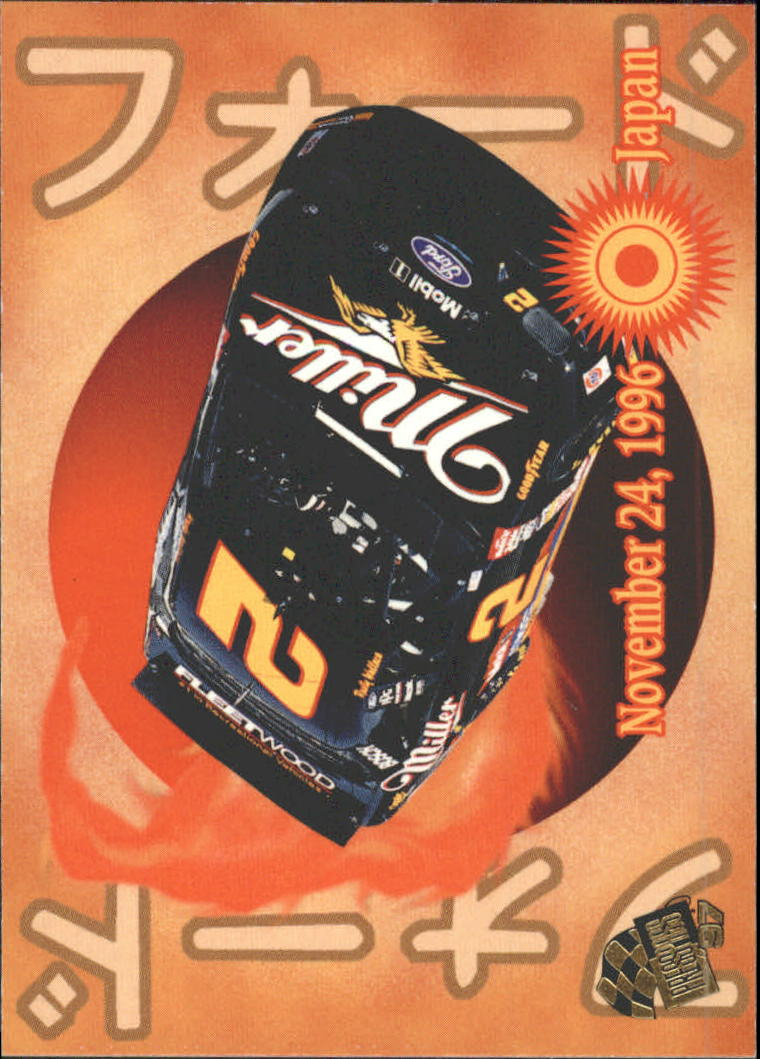 1997 Press Pass #62 Rusty Wallace's Car
