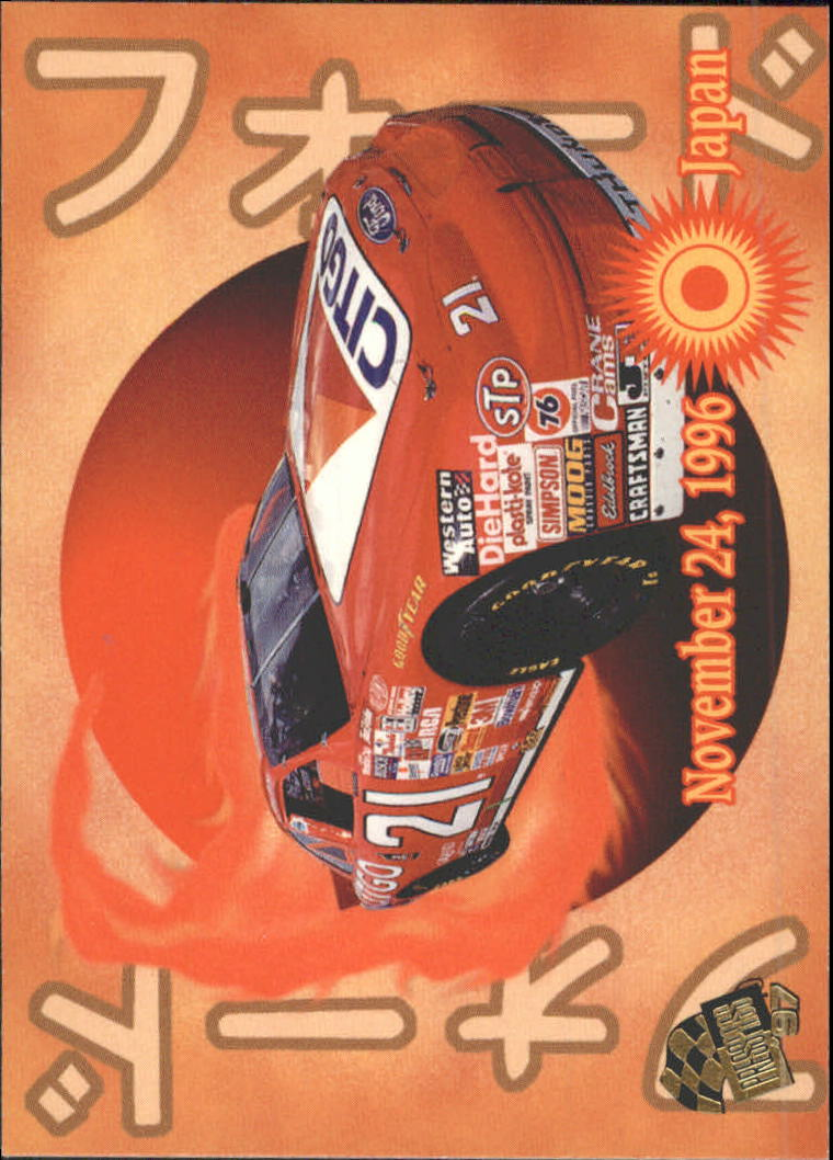 1997 Press Pass #63 Michael Waltrip's Car