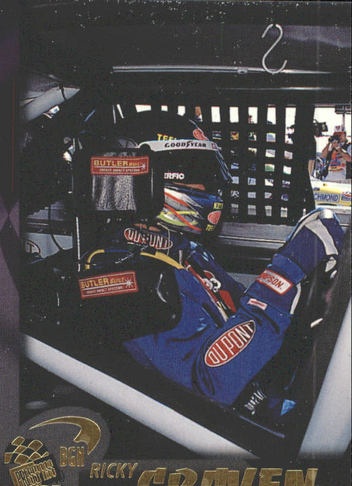 1997 Press Pass #66 Ricky Craven