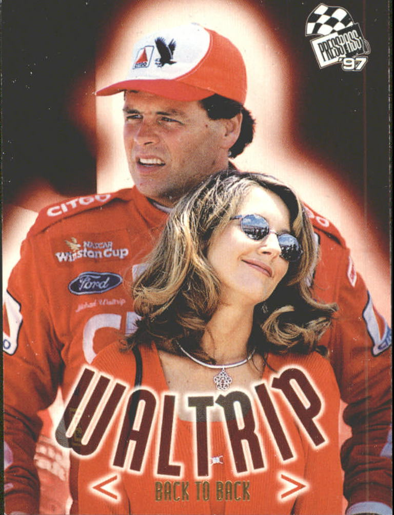 1997 Press Pass #79 Michael Waltrip