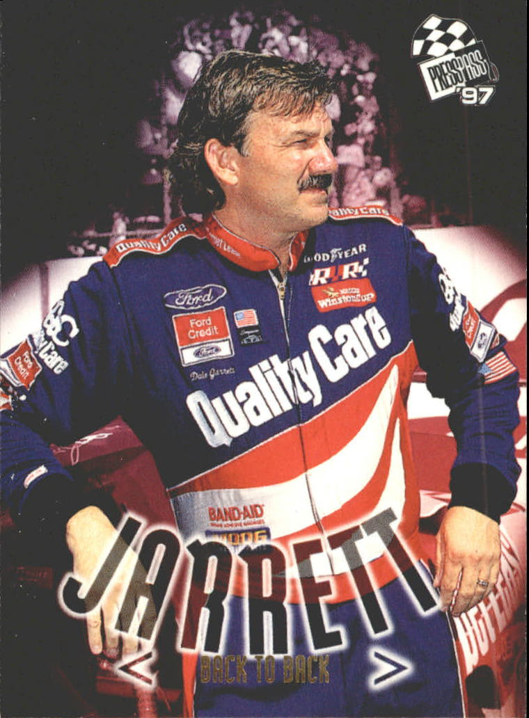 1997 Press Pass #80 Dale Jarrett
