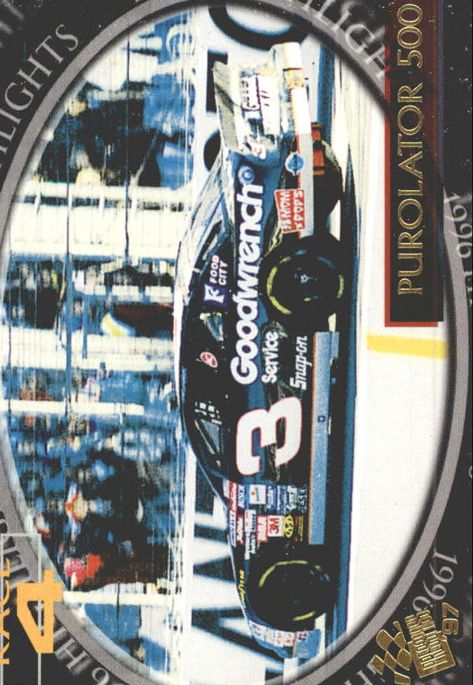 1997 Press Pass #95 Dale Earnhardt's Car
