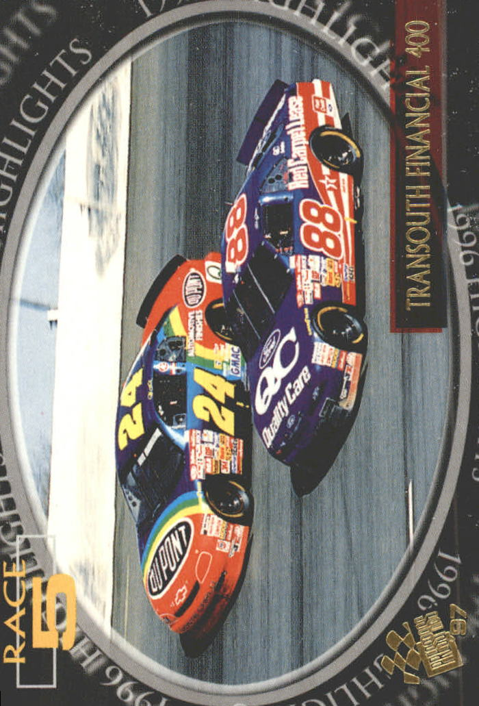 1997 Press Pass #96 J.Gordon/D.Jarrett's Cars