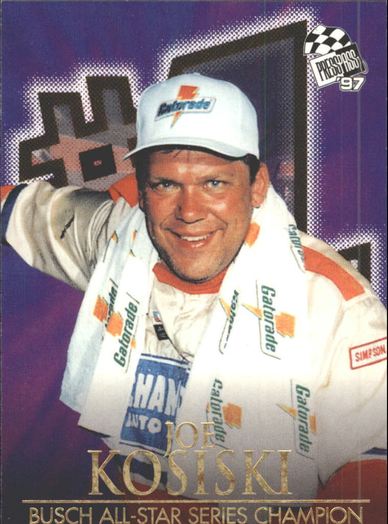 1997 Press Pass #115 Joe Kosiski