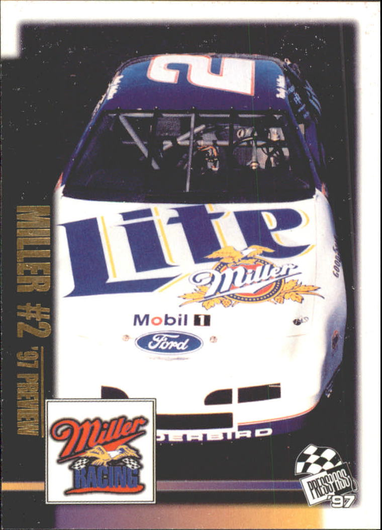 1997 Press Pass #122 Rusty Wallace's Car