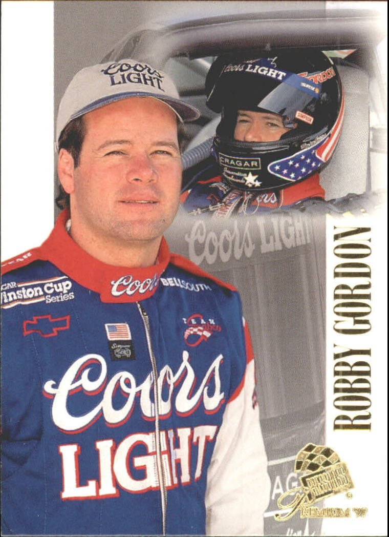 1997 Press Pass Premium #26 Robby Gordon RC