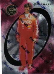 1997 Pinnacle Totally Certified Platinum Red #21 Michael Waltrip