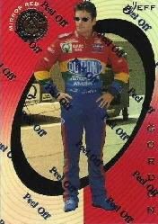 1997 Pinnacle Certified Mirror Red #24 Jeff Gordon