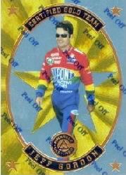 1997 Pinnacle Certified Certified Team Gold #2 Jeff Gordon