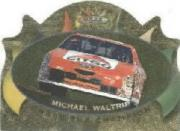 1997 Maxx Chase the Champion Gold Die Cuts #C8 Michael Waltrip