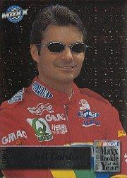 1997 Maxx Rookies of the Year #MR6 Jeff Gordon