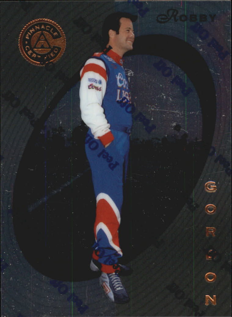 1997 Pinnacle Certified #11 Robby Gordon RC