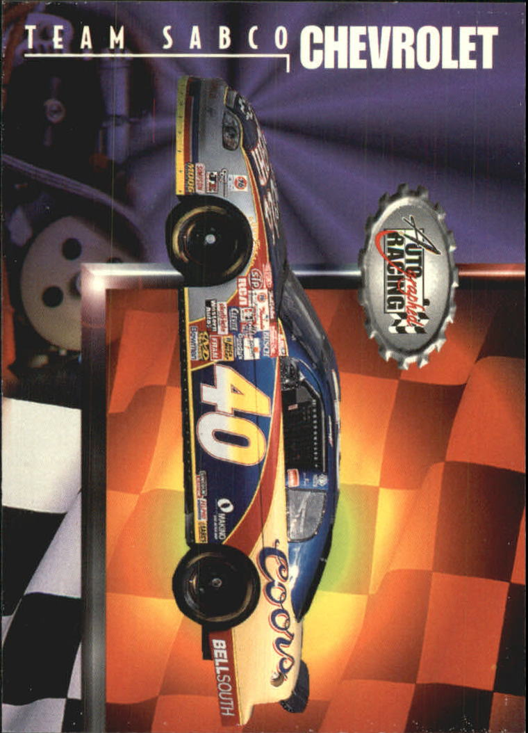 1997 Autographed Racing #32 Robby Gordon's Car