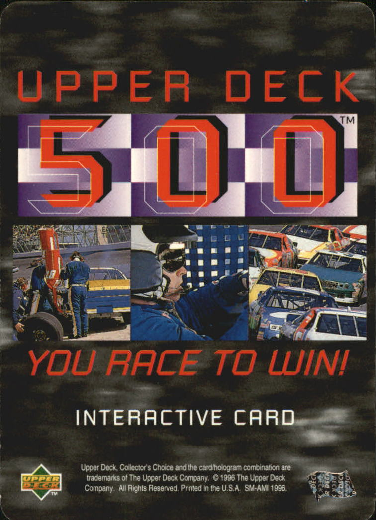 1997 Collector's Choice Upper Deck 500 #UD5 Sterling Marlin