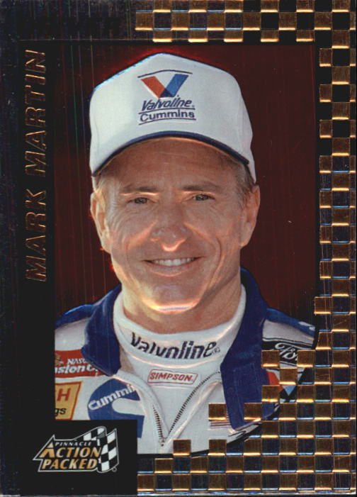 1997 Action Packed #6 Mark Martin