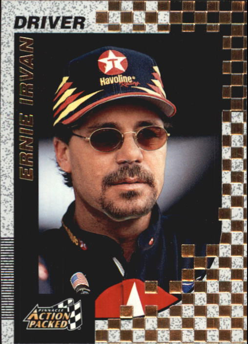 1997 Action Packed #9 Ernie Irvan