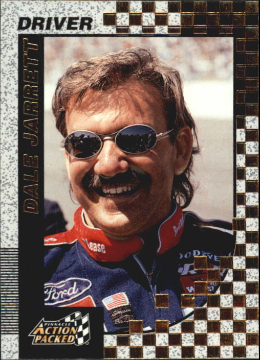 1997 Action Packed #13 Dale Jarrett