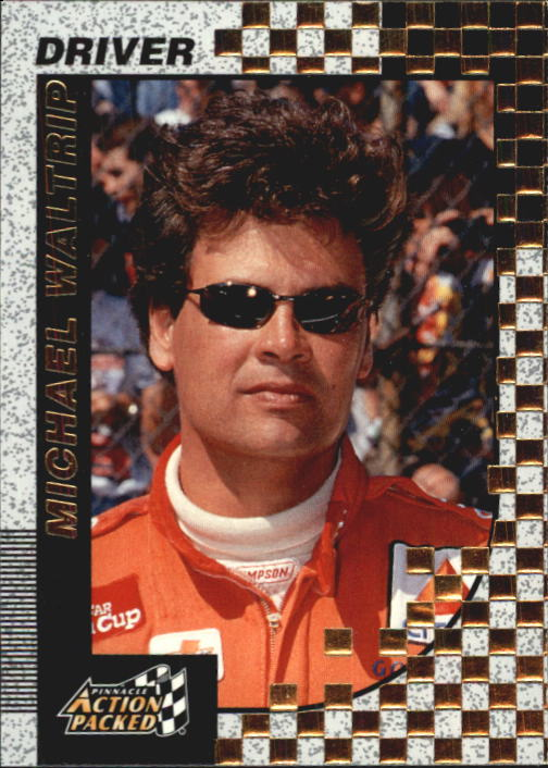 1997 Action Packed #15 Michael Waltrip