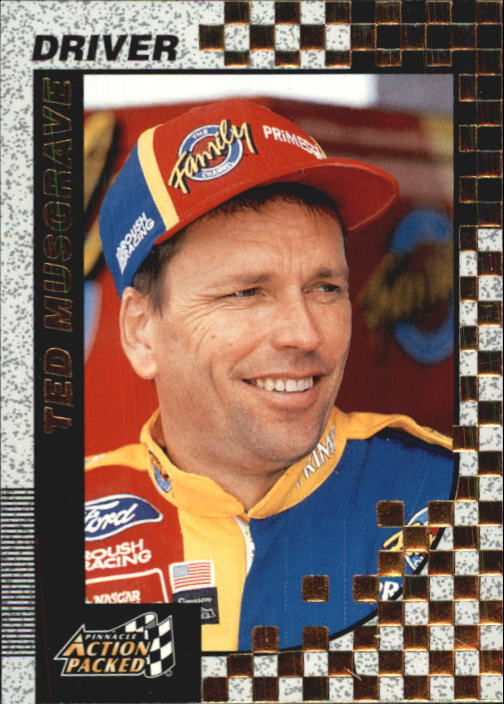 1997 Action Packed #16 Ted Musgrave