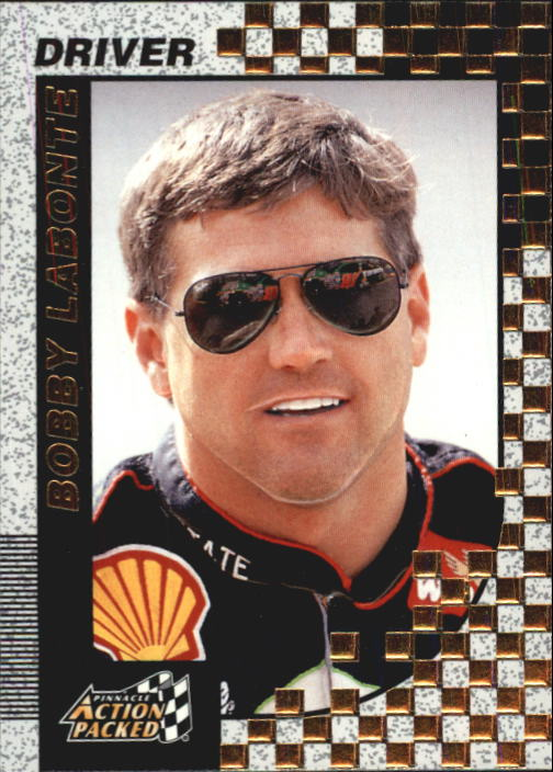 1997 Action Packed #18 Bobby Labonte