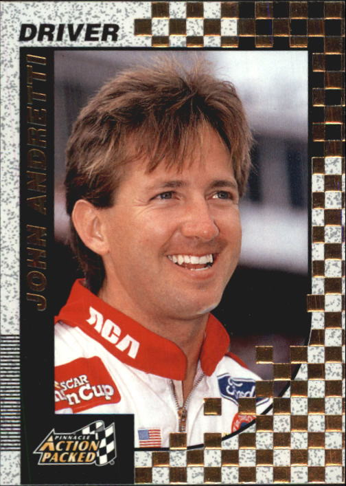 1997 Action Packed #19 John Andretti