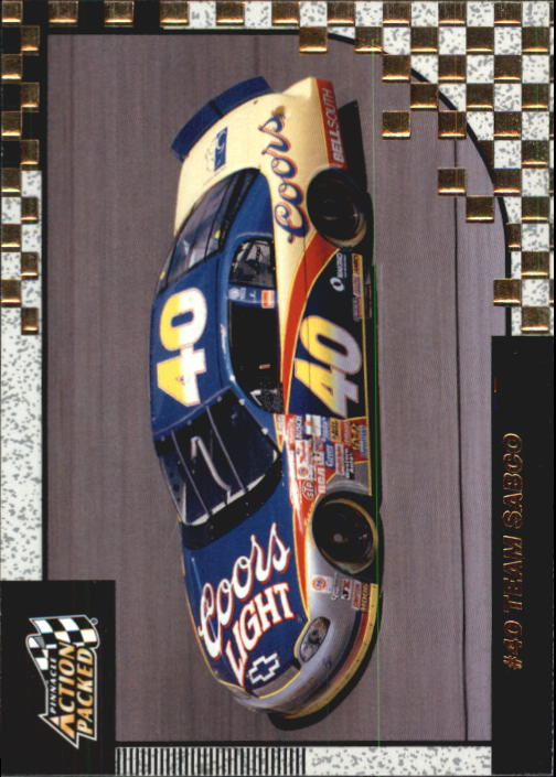 1997 Action Packed #52 Robby Gordon's Car
