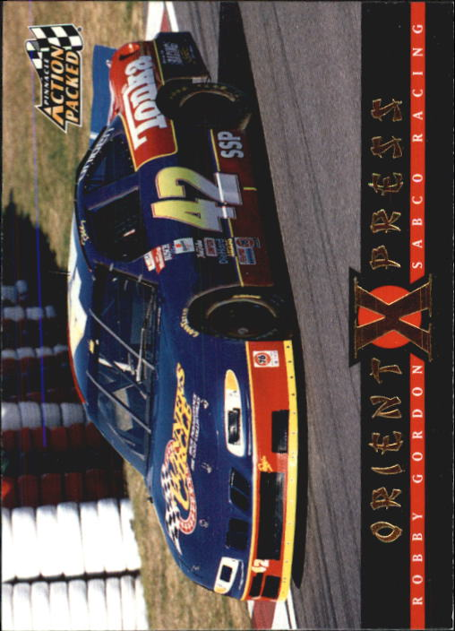 1997 Action Packed #75 Robby Gordon's Car