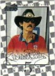1997 Action Packed Fifth Anniversary Autographs #1 Richard Petty