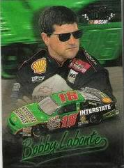 1997 Ultra Shoney's #7 Bobby Labonte