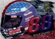 1998 VIP Head Gear Die Cuts #HG5 Dale Jarrett