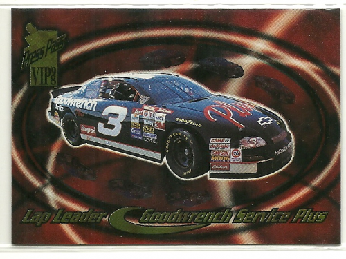 1998 VIP Lap Leaders #LL2 Dale Earnhardt's Car
