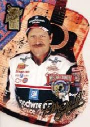 1998 VIP NASCAR Country Die Cuts #NC1 Dale Earnhardt