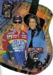 1998 VIP NASCAR Country Die Cuts #NC3 Jeff Gordon
