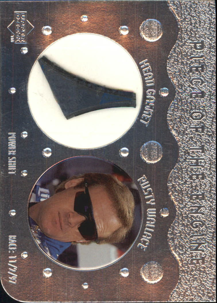 1998 Upper Deck Victory Circle Piece of the Engine #PE7 Rusty Wallace
