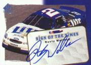 1998 SP Authentic Sign of the Times #S1 Rusty Wallace's Car