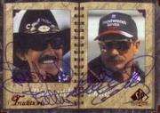 1998 SP Authentic Traditions #T1 Richard Petty/Dale Earnhardt