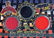 1998 Press Pass Triple Gear 3 in 1 #STG6 Jeff Gordon