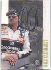 1998 Press Pass Autographs #1 Dale Earnhardt/63