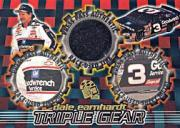 1998 Press Pass Triple Gear Burning Rubber #TG2 Dale Earnhardt