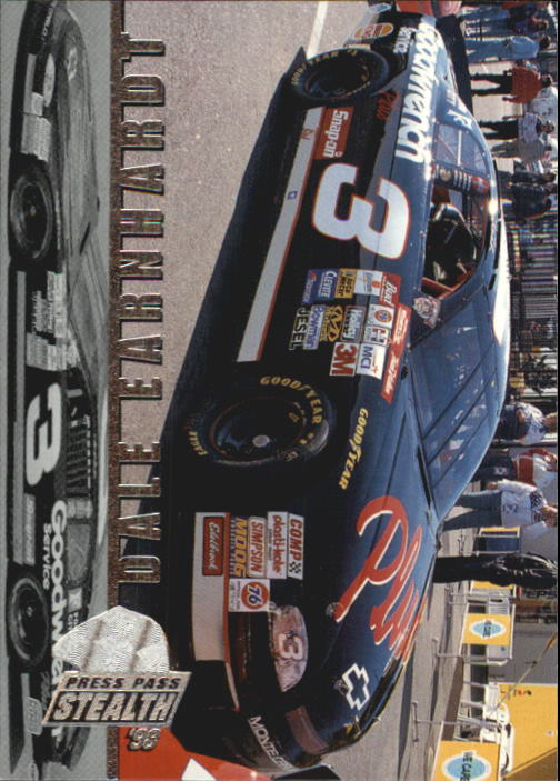 1998 Press Pass Stealth #1 Dale Earnhardt's Car