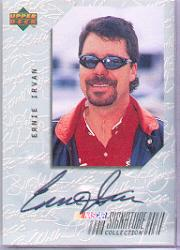1999 Upper Deck Victory Circle Signature Collection #EI Ernie Irvan