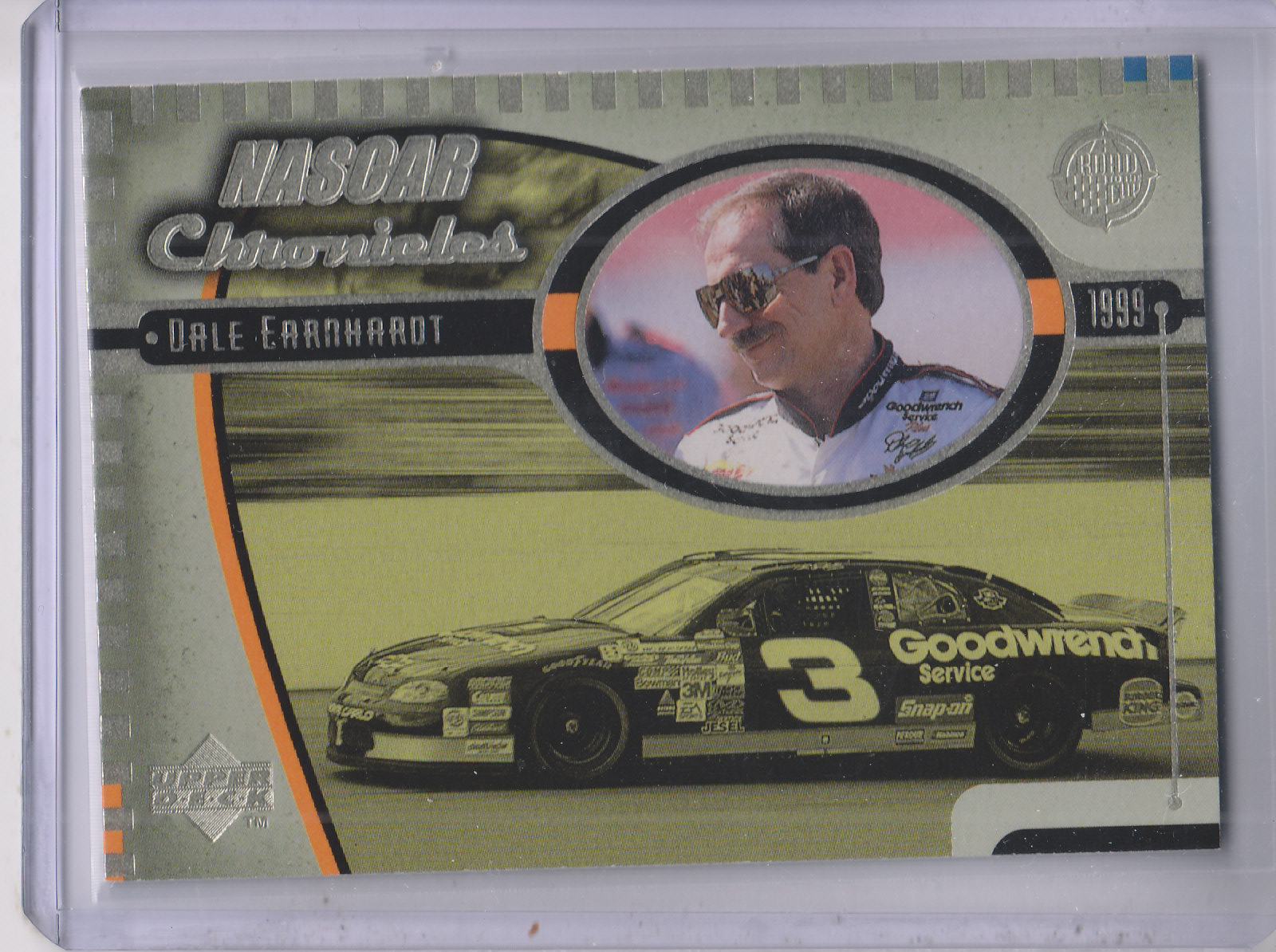 1999 Upper Deck Road to the Cup NASCAR Chronicles #NC11 Dale Earnhardt