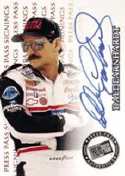1999 Press Pass Signings #14 Dale Earnhardt/400
