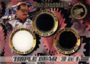 1999 Press Pass Triple Gear 3 in 1 #TG9 Dale Earnhardt