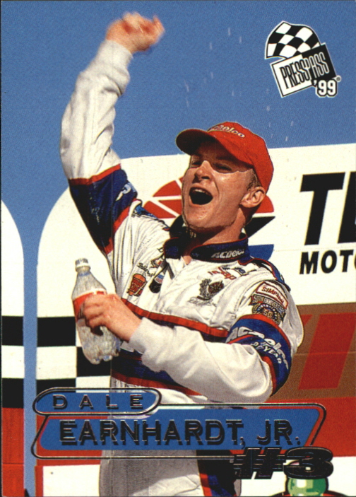 1999 Press Pass #37 Dale Earnhardt Jr.