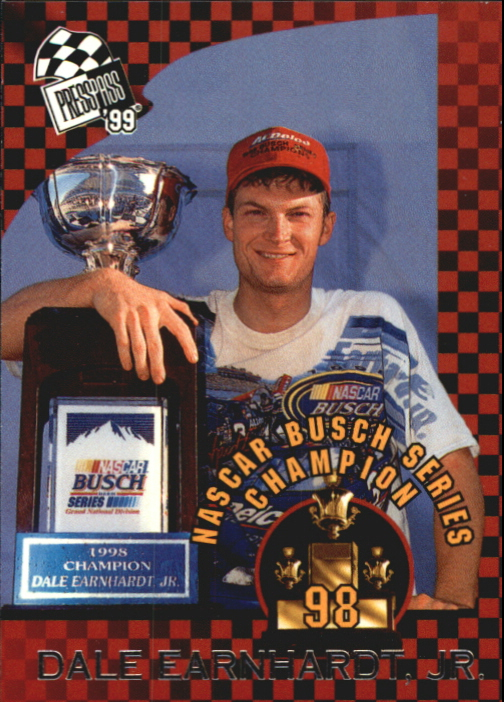 1999 Press Pass #73 Dale Earnhardt Jr. Champ
